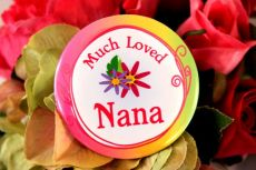 Much Loved Nana Badge