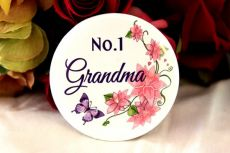 No.1 Grandma Badge