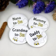 To Bee.. Baby Shower Badge