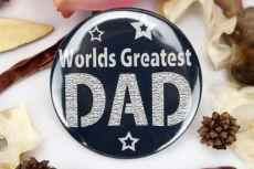 Worlds Greatest Dad Badge
