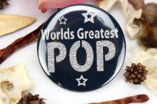 Worlds Greatest Pop Badge