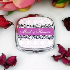 Maid Of Honour Compact Mirror Filigree