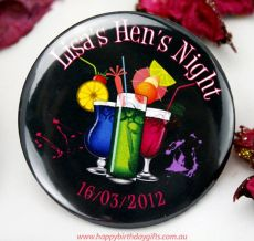 Hens Night Personalised Badges