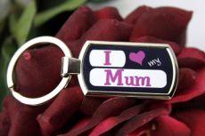 I Love My Mum Keyring