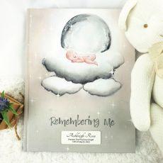 Baby Memorial Keepsake Book - Remembering Me