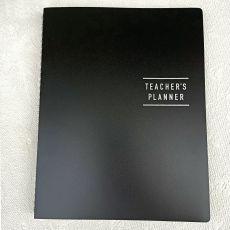 Teachers Planner Diary & Pen 144pages - Black