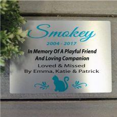 Personalised Cat Memorial Plaque