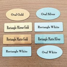 Personalised Metal Name Plaque