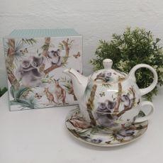 Australia Animal Tea for one Gift Boxed