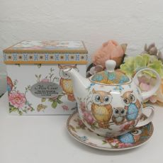 Owl Tea for one in Personalised Teacher Gift Box