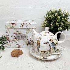 Kookaburra Tea for one in Personalised Aunty Gift Box