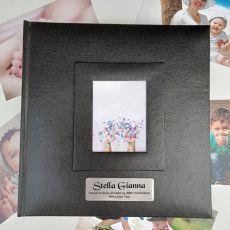 Personalised 30th Birthday Photo Album 200 Black