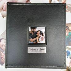Engagement Personalised Album Black 5x7 Photo