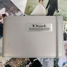 Personalised Memorial Brag Album - Silver 5x7