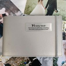 Personalised Pet Memorial Mini Album - Silver 5x7