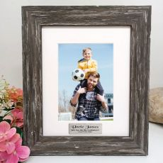 Godfather Personalised Photo Frame Hamptons Brown 5x7