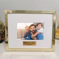 Godfather Personalised Photo Frame 5x7 Gold