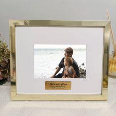 Grandpa Personalised Photo Frame 5x7 Gold