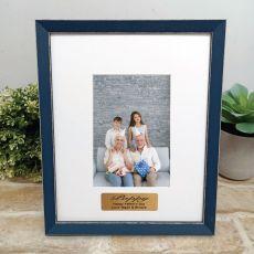 Personalised Pop Photo Frame Amalfi Navy 4x6