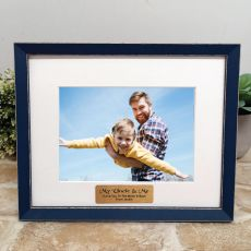 Personalised Uncle  Photo Frame Amalfi Navy 5x7