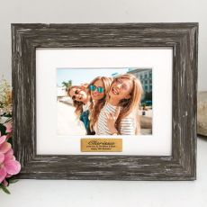 16th Personalised Photo Frame Hamptons Brown 4x6