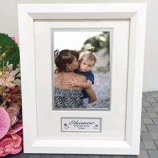 Aunty Photo Frame White Wood 4x6 Photo