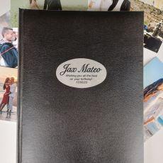 Personalised Birthday Album 300 Photo Black