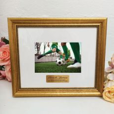 Coach Photo Frame 4x6 Majestic Gold