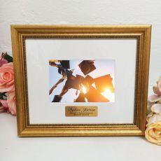 Graduation Photo Frame 4x6 Majestic Gold