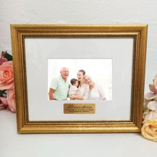 Grandma Photo Frame 4x6 Majestic Gold