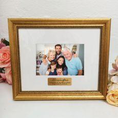Grandpa Photo Frame 4x6 Majestic Gold