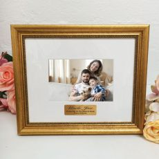 Uncle Photo Frame 4x6 Majestic Gold