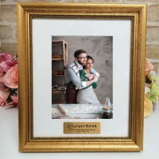 18th Birthday Personalised Frame 5x7 Majestic Gold