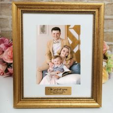 Aunt Personalised Frame 5x7 Majestic Gold