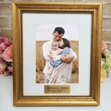GodParents Personalised Frame 5x7 Majestic Gold