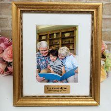Grandpa Personalised Frame 5x7 Majestic Gold