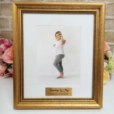 Personalised Photo Frame 5x7 Majestic Gold
