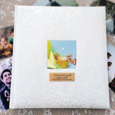 80th Birthday Drymount Photo Album Lace