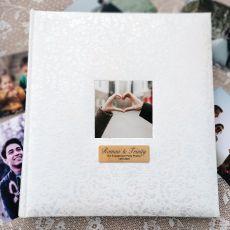 Lace Engagement Drymount Photo Album