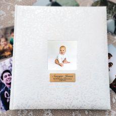 Naming Day Drymount Photo Album Lace