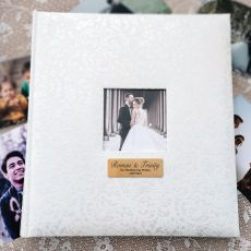 Lace Wedding Drymount Photo Album