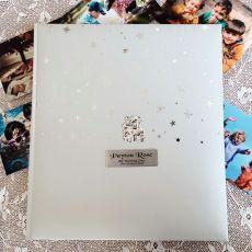 Personalised Naming Day Drymount  Album  - Baby Bear
