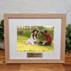 21st Birthday Photo Frame Victorian Ash Solid Wood