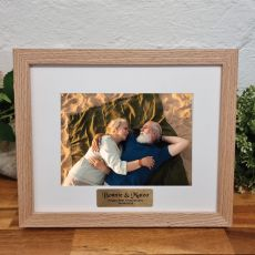 Anniversary Photo Frame Victorian Ash Solid Wood