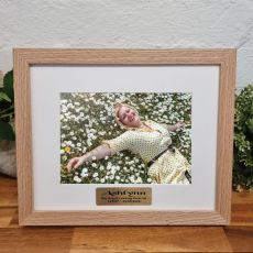 Memorial Photo Frame Victorian Ash Solid Wood