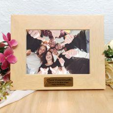 16th Birthday Limewash Wood Photo Frame