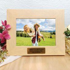 18th Birthday Limewash Wood Photo Frame