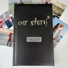 Our Story Personalised Wedding Album 300 Photos
