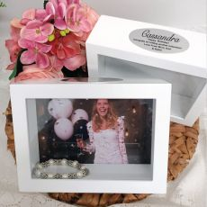 Birthday Keepsake Shadow Box Photo Frame 5x7