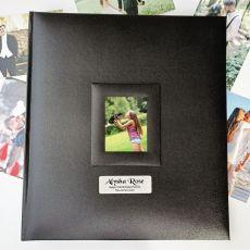 16th Birthday Photo Album 500 Black